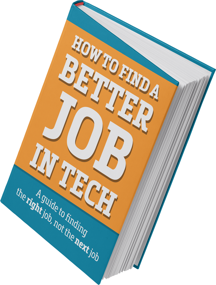 Better Job in Tech book cover