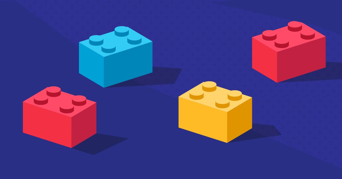 illustration of lego blocks