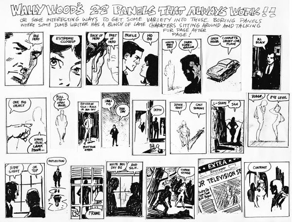 22 Panels That Always Work: Wally Wood's Legendary Productivity Hack